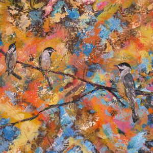 Detail of Painting by Ruthananda