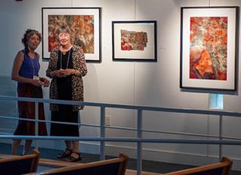 Barbara Tyroler and Sandy Milroy Collaborate