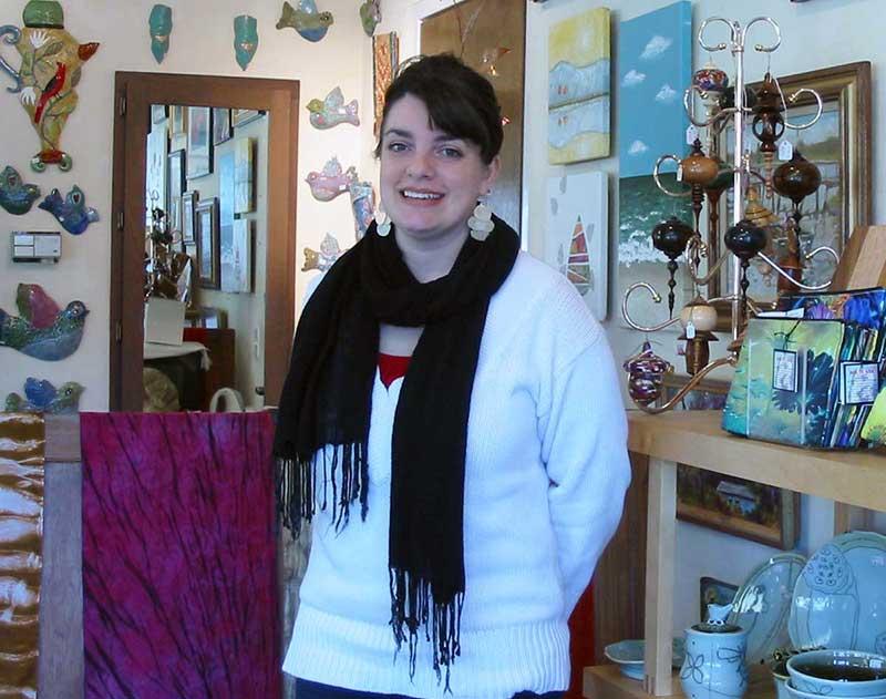 Sara Gress at NC Crafts Gallery
