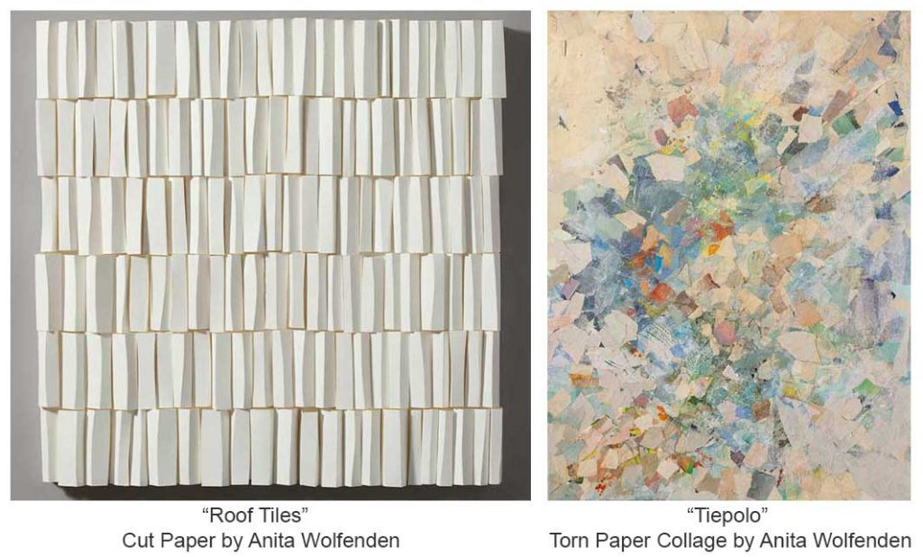 two works by Anita Wolfenden OCt 2013