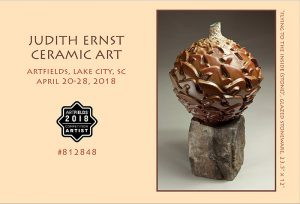 Judith Ernst Ceramic Art Flyer