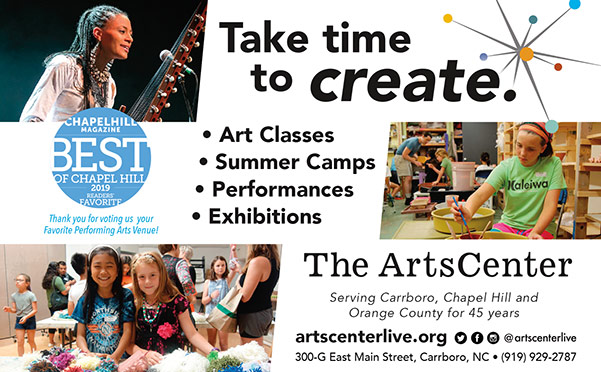 Arts Center print ad