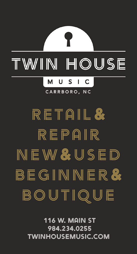Twin House print ad
