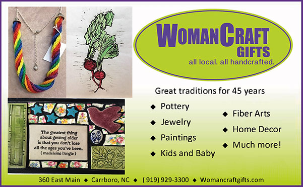 Woman Craft print ad