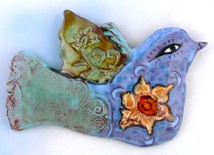 Blue Bird Clay Cathy Kiffney