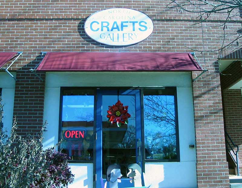NC Crafts Gallery, Carrboro, NC