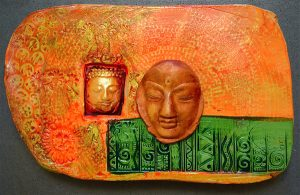 Buddha in the Warm Sun by Hollie Taylor