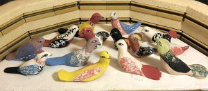 Cathy Kiffney, Birds in the Kiln