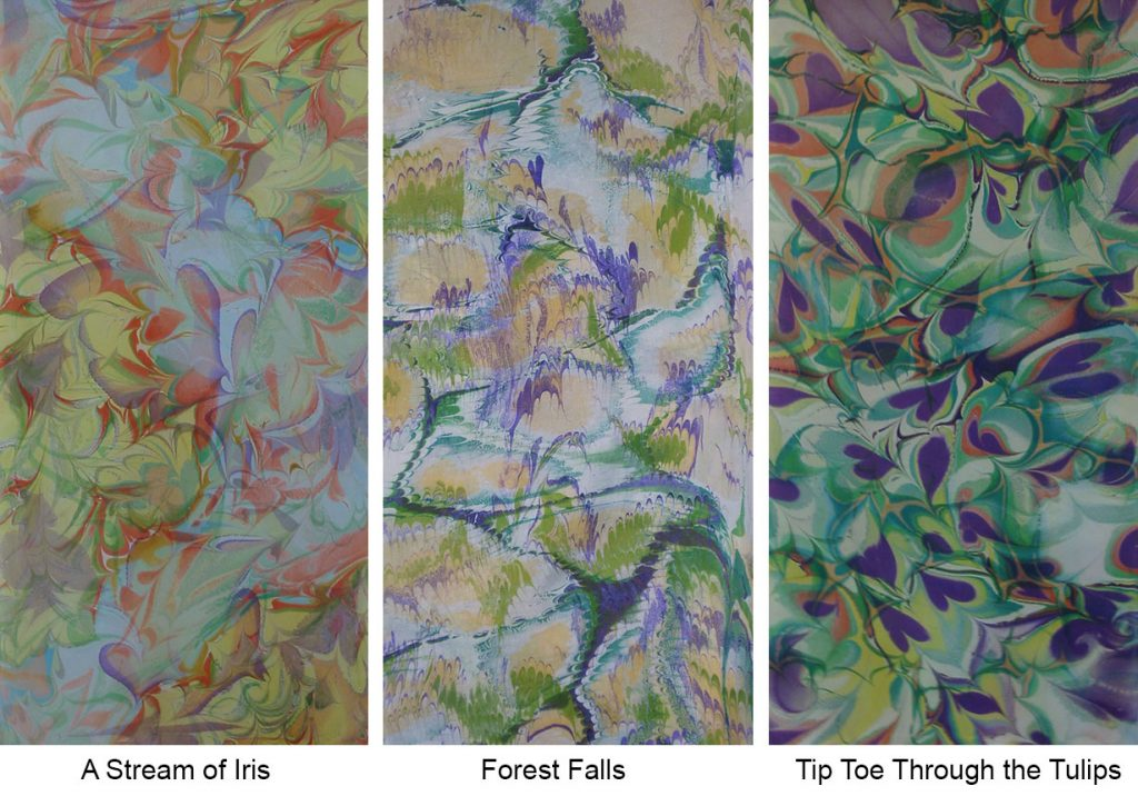 Marbled Panels by Trudy Thomson