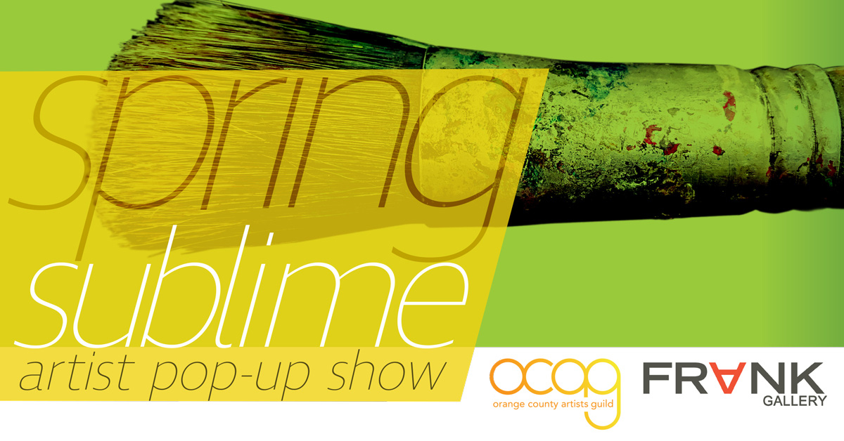 Spring Sublime – Artist Pop-up Show
