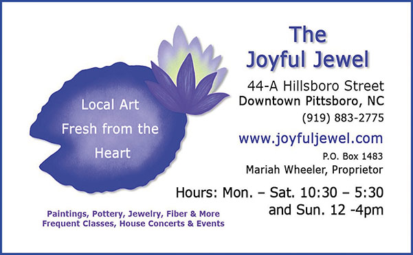 Joyful Jewel print ad