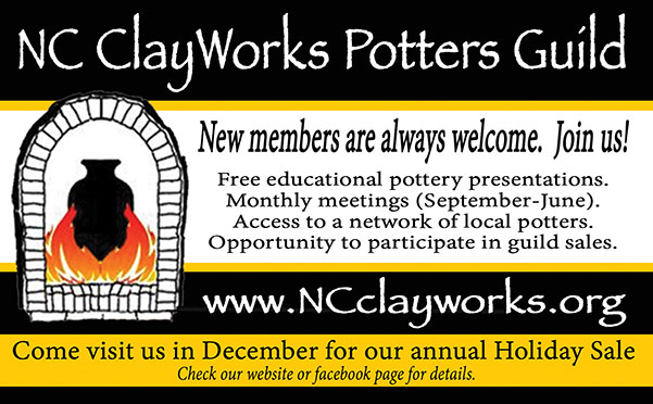 NC Clay Works print ad