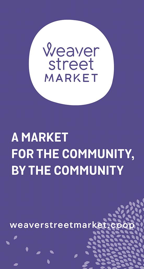 Weaver Street Market print ad
