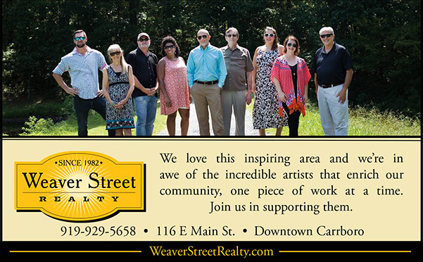 Weaver Street Realty print ad