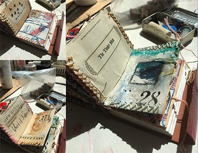 Hand made books by Sandra Elliott