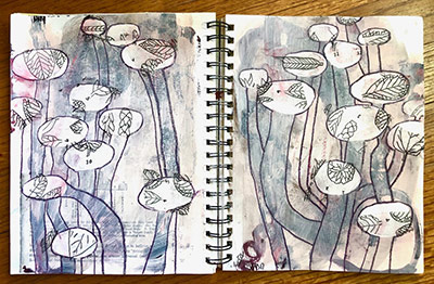 Notebook illustration by Shelly Hehenberger